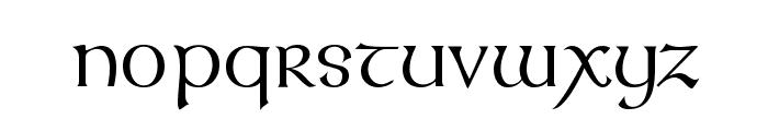 UmberSSK Font LOWERCASE