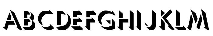 Umbles Font LOWERCASE