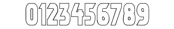 Umbro Outline Font OTHER CHARS