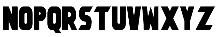 Umbro Solid Font UPPERCASE