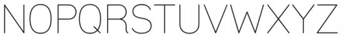 Uma Light Font UPPERCASE