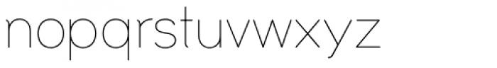 Uma Light Font LOWERCASE