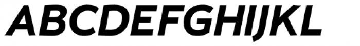 Umba Sans Bold Italic Font UPPERCASE
