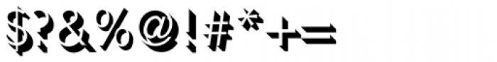 Umbra Std Font OTHER CHARS