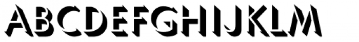 Umbra Std Font UPPERCASE