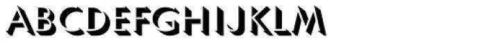 Umbra URW D Font LOWERCASE