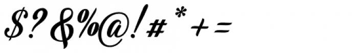 Umbrellia Regular Font OTHER CHARS