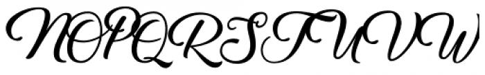 Umbrellia Regular Font UPPERCASE