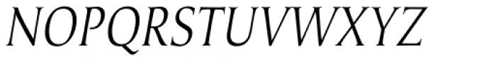 Umerica Condensed Italic Font UPPERCASE