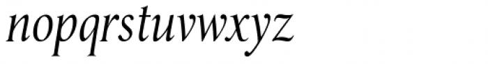 Umerica Condensed Italic Font LOWERCASE