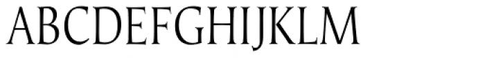 Umerica Condensed Regular Font UPPERCASE