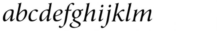 Umerica Italic Font LOWERCASE