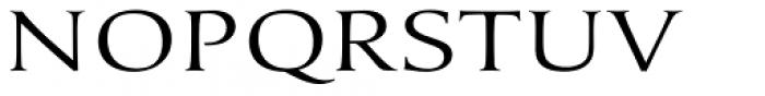 Umerica Wide Regular Font UPPERCASE