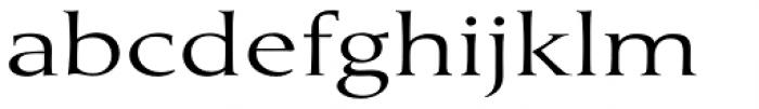 Umerica Wide Regular Font LOWERCASE