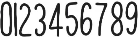 UNION-HAND Regular otf (400) Font OTHER CHARS