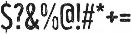 Unboring Regular ttf (400) Font OTHER CHARS