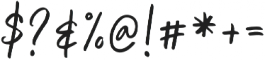 Unbossy Regular otf (400) Font OTHER CHARS