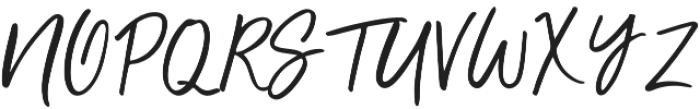 Unbossy Regular otf (400) Font UPPERCASE