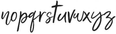 Unbossy Regular otf (400) Font LOWERCASE
