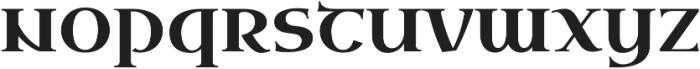 Uncial Antiqua Pro Regular otf (400) Font LOWERCASE