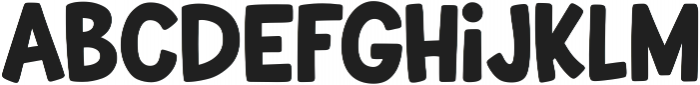 Uncle Grump otf (400) Font LOWERCASE