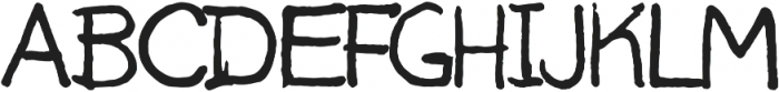 Uncle Jer ttf (400) Font UPPERCASE