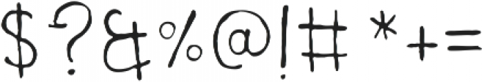 UncleLee ttf (300) Font OTHER CHARS