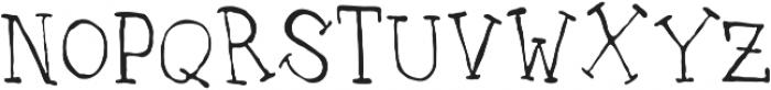 UncleLee ttf (300) Font UPPERCASE
