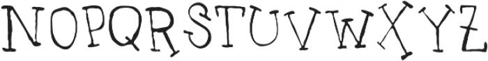 UncleLee ttf (300) Font LOWERCASE