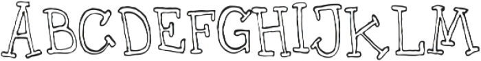 UncleLee ttf (400) Font UPPERCASE