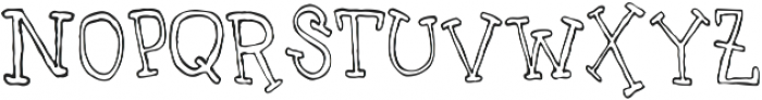 UncleLee ttf (400) Font LOWERCASE