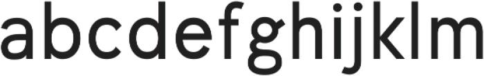 Undeka otf (400) Font LOWERCASE