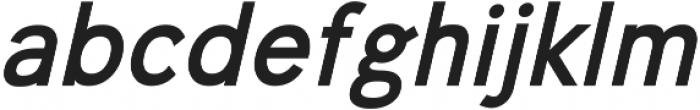 Undeka otf (700) Font LOWERCASE