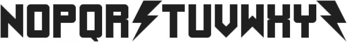 UnderStrukk ttf (400) Font UPPERCASE