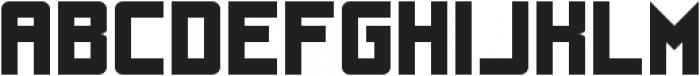 UnderStrukk ttf (400) Font LOWERCASE