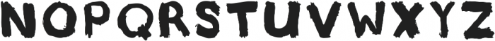 Underpaid Sign Painter ttf (400) Font UPPERCASE