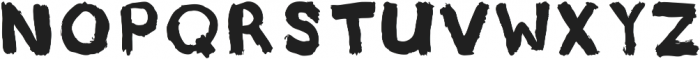 Underpaid Sign Painter ttf (400) Font LOWERCASE