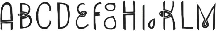 Undersong Split2 otf (400) Font LOWERCASE