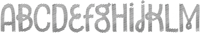 Undersong Stripes otf (400) Font LOWERCASE
