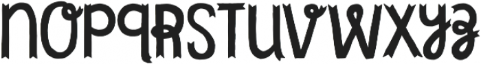 Undersong Tuscan otf (400) Font LOWERCASE