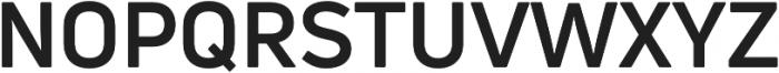 Uni Neue Bold otf (700) Font UPPERCASE