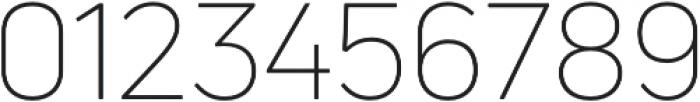 Uni Neue Light otf (300) Font OTHER CHARS
