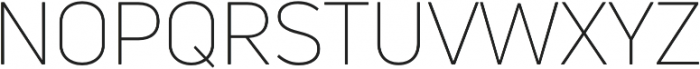 Uni Neue Light otf (300) Font UPPERCASE
