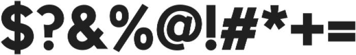 Uni Sans Bold ttf (700) Font OTHER CHARS
