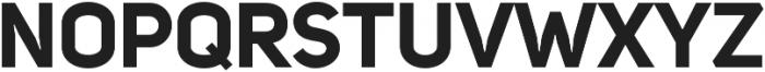 Uni Sans Bold ttf (700) Font UPPERCASE