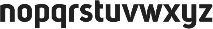 Uni Sans Bold ttf (700) Font LOWERCASE