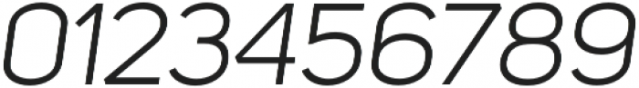 Uni Sans Book Italic otf (400) Font OTHER CHARS