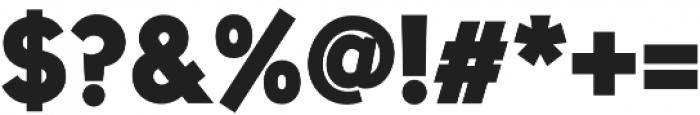 Uni Sans Heavy otf (800) Font OTHER CHARS