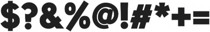 Uni Sans Heavy ttf (800) Font OTHER CHARS