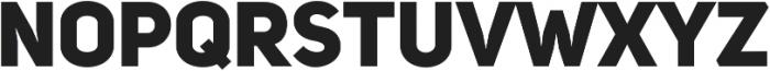 Uni Sans Heavy ttf (800) Font UPPERCASE